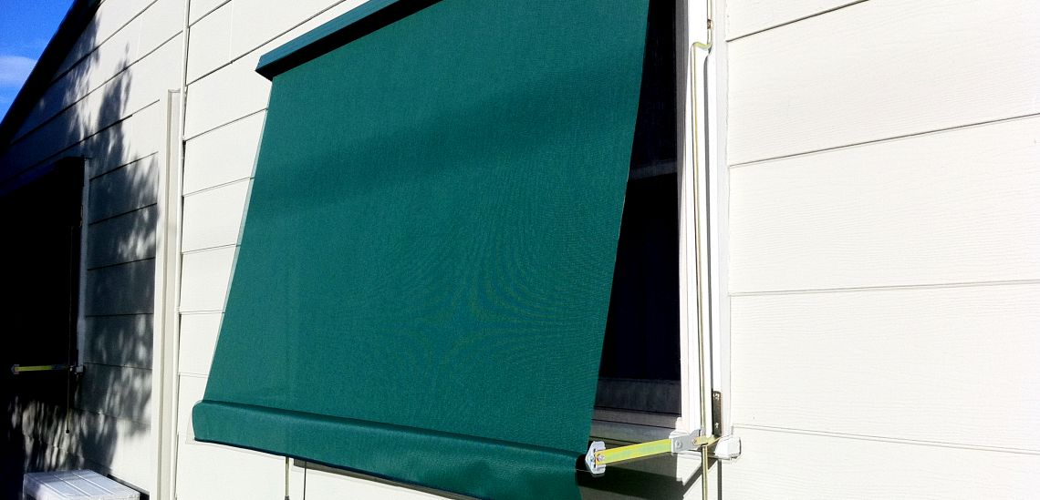 Automatic Awning Green external