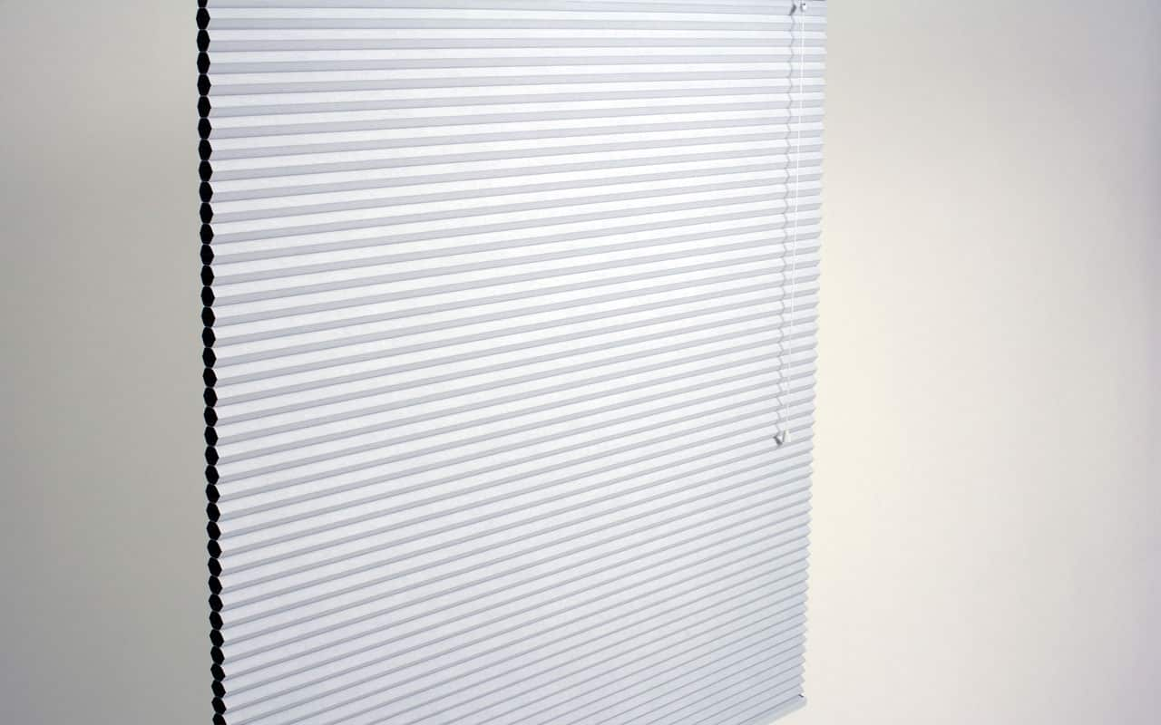 White Cellular Blinds for One Window