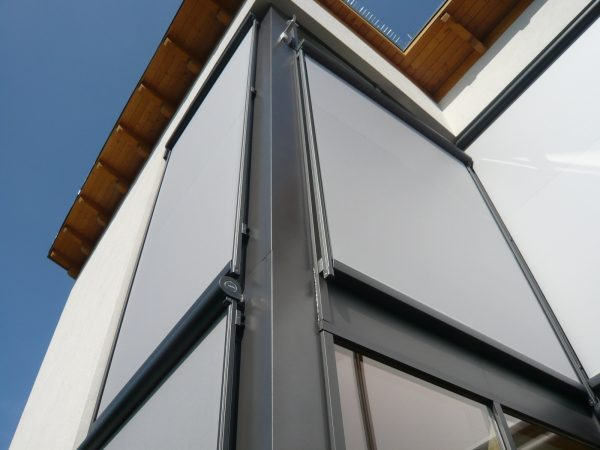 White Side Tracfix Awnings By Markilux